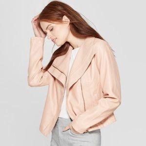 Pink Asymmetrical Jacket